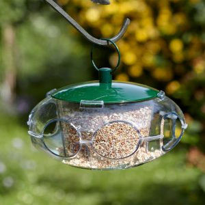 peckish small seed feeder in use