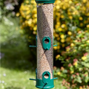 Peckish 3 Seed Feeder in use