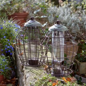 Peckish Secret Garden Squirrel Proof Seed Feeder