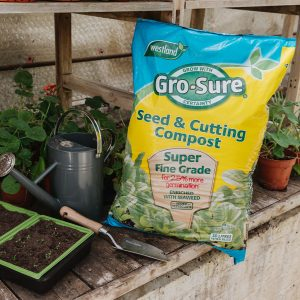 grosure seed and cutting compost in use