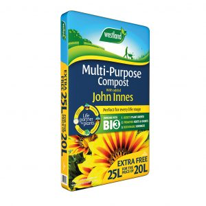 westland multi pupose compost with John Innes 20l
