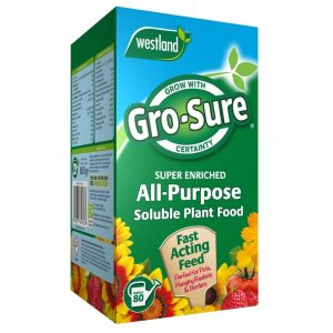 Gro-Sure All Purpose Soluble Plant Food in pack