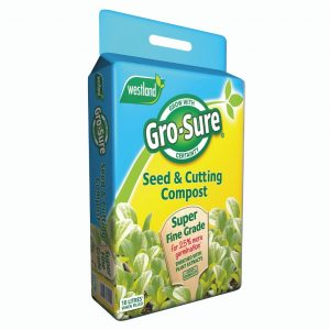 grosure seed and cutting compost pouch 10l