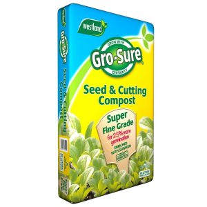grosure seed and cutting compost pouch 30l