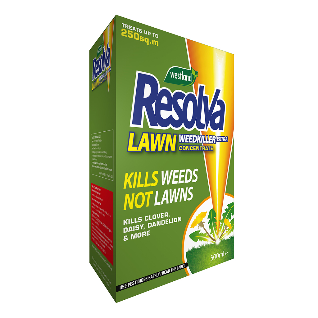 resolva lawn weedkiller extra concentrate