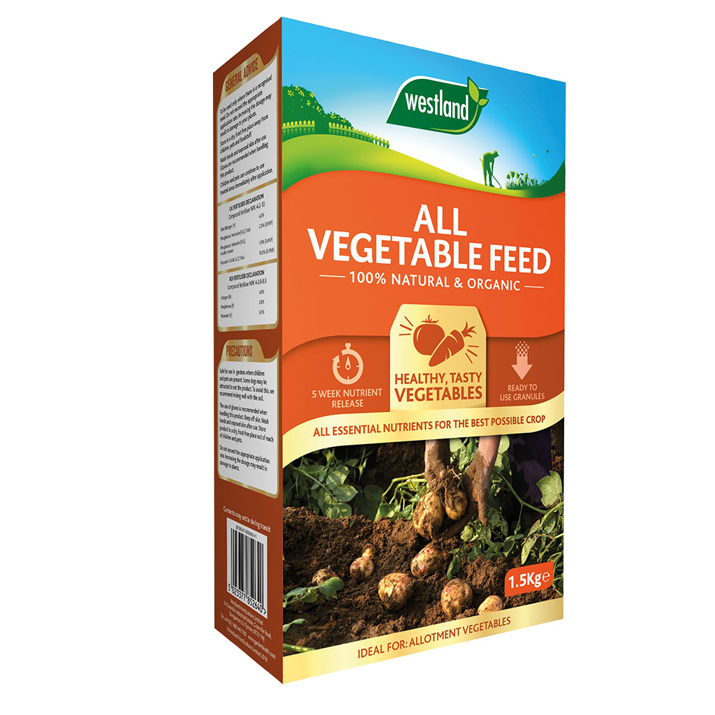 Westland Organic Vegetable Feed in pack