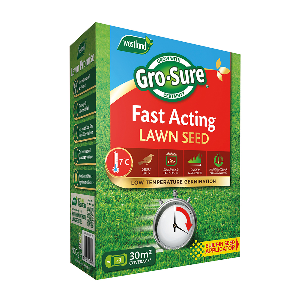 Gro Sure Fast Acting Lawn Seed