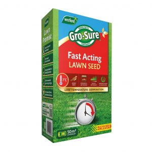grosure fast acting lawn seed 50sqm