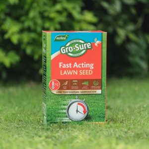 grosure fast acting lawn seed 50sqm lifestyle