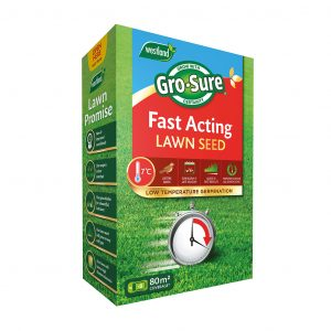 grosure fast acting lawn seed 80sqm