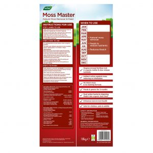 moss master back of pack