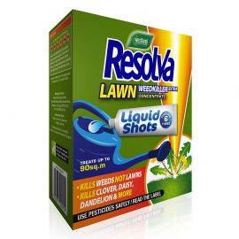 Resolva Lawn Weedkiller Extra Liquid Shots