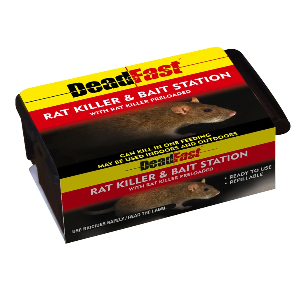Deadfast Rat Killer & Bait Station