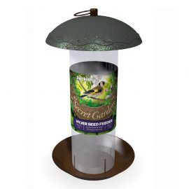 Peckish Secret Garden Nyjer Seed Feeder