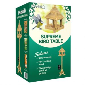 Peckish Supreme Bird Table Box