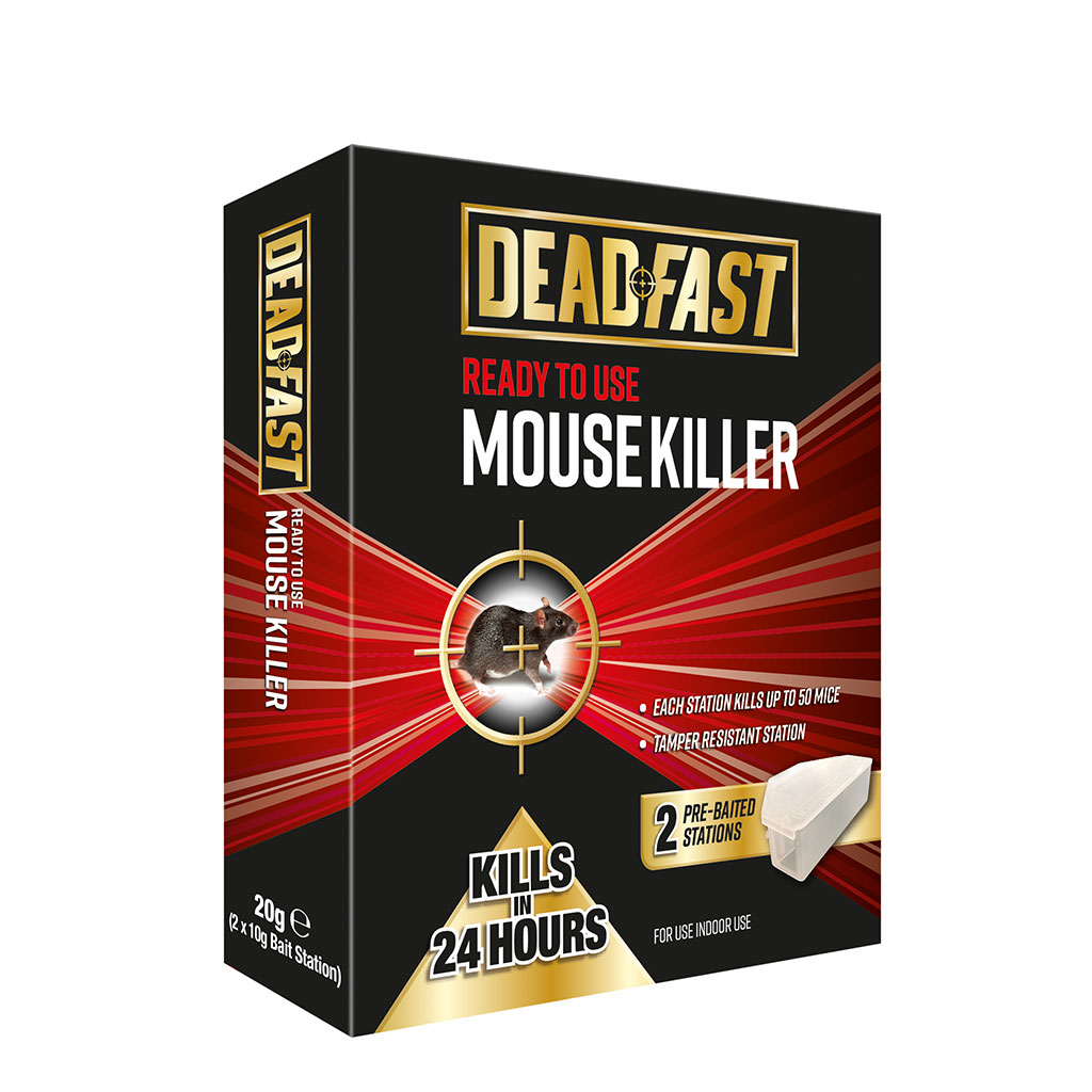 Deadfast Ready to Use Mouse Killer Bait Stations