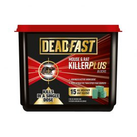Deadfast Mouse & Rat Killer Plus Blocks