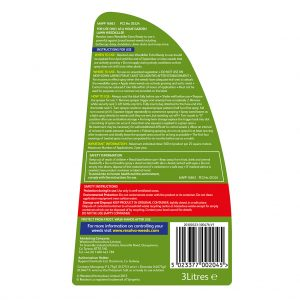 Resolva Lawn WeedKiller Extra Ready To Use back of pack