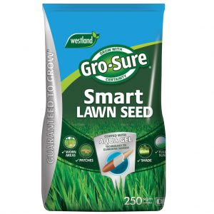 gro sure smart lawn seed 250m2