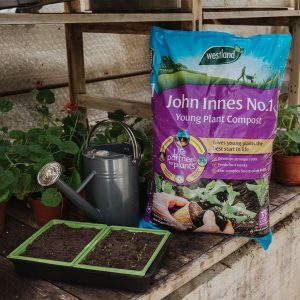 john innes no1 young plant compost 35l in use