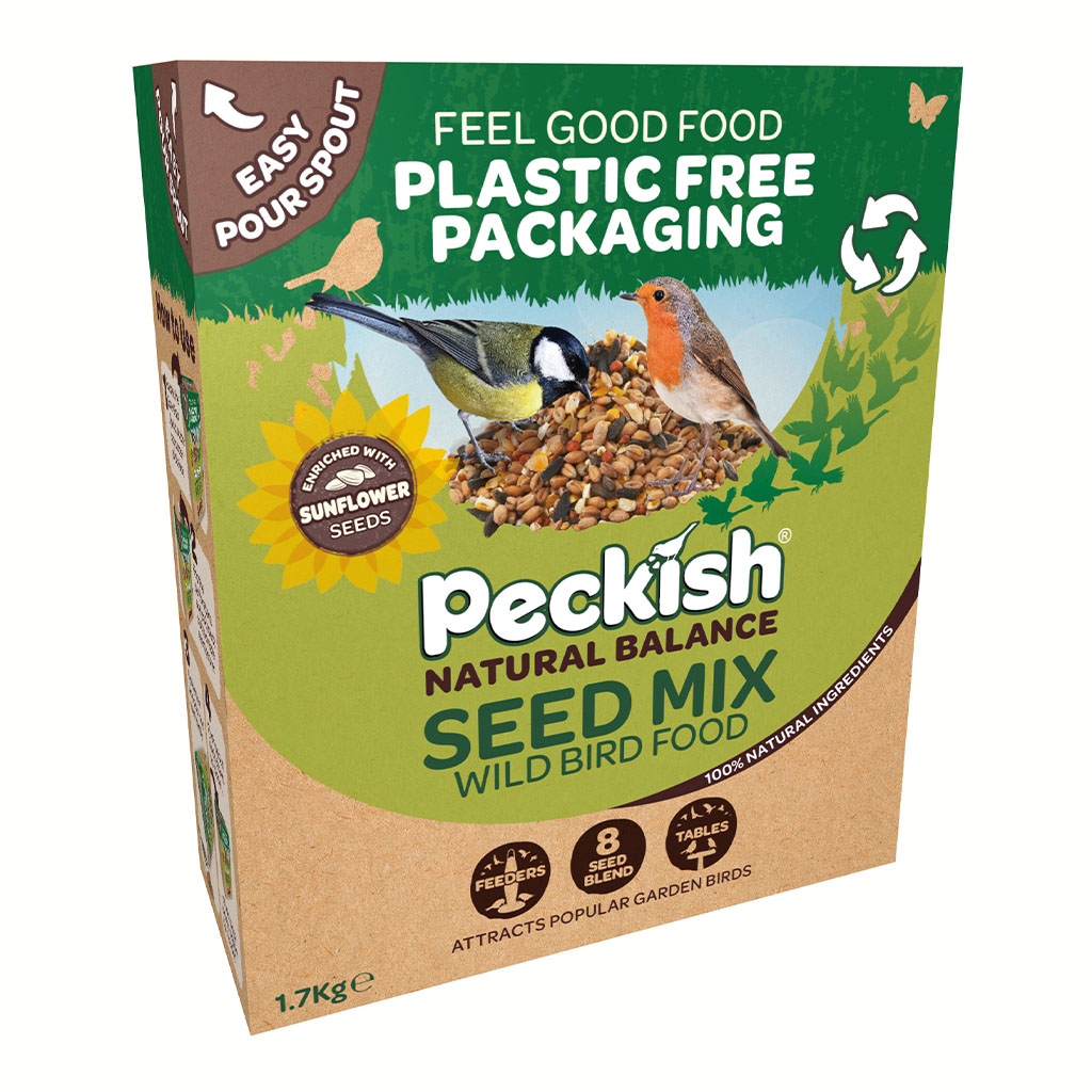 Peckish Natural Balance Seed Mix in pack