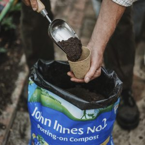 john innes no2 potting on compost in use