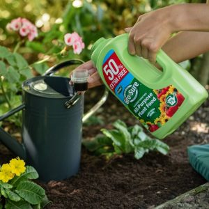 Gro-Sure All Purpose Plant Food 1l with watering can