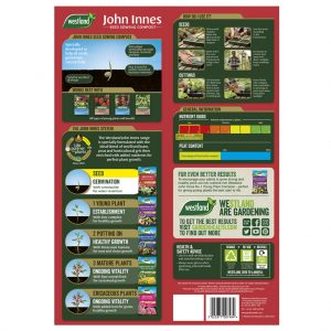 john innes seed sowing compost back of pack