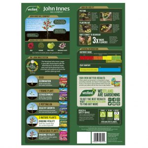 john innes no3 mature plant compost back of pack