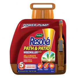 Resolva Path & Patio Weedkiller Ready To Use Power Pump