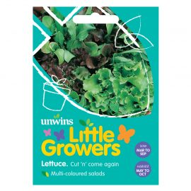 Unwins Little Growers Lettuce Cut 'n' Come Again