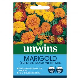 Unwins Marigold (French) Marionette Mix