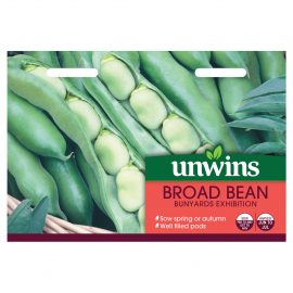 Unwins Broad Bean Bunyards Exhibitions