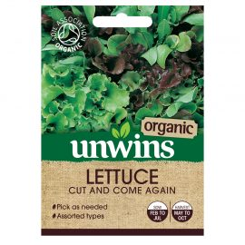 Unwins Organic Lettuce Cut and Come Again