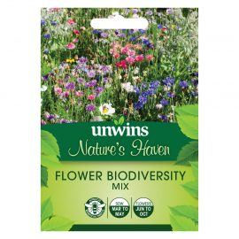 Unwins Nature's Haven Flower Biodiversity Mix