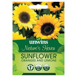 Unwins Nature's Haven Sunflower Orange and Lemons