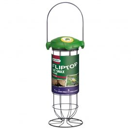 Gardman Flip Top Fat Snax Feeder in pack
