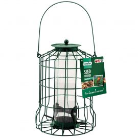 Gardman Squirrel Proof Seed Feeder in pack