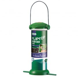 Gardman Flip Top Nyjer Seed Feeder in pack