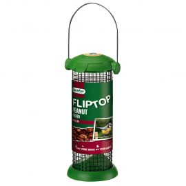 Gardman Flip Top Peanut Feeder in pack