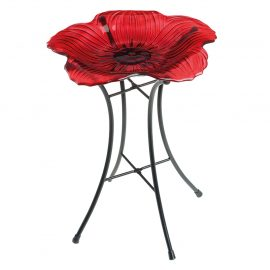 Gardman Poppy Bird Bath