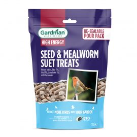 Gardman Seed and Mealworm Suet Treats