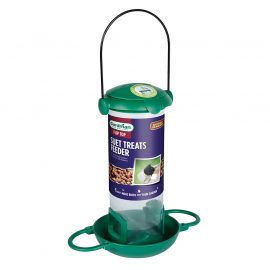 Gardman Flip Top Suet Treat and Mealworm Feeder