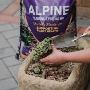 alpine compost in use