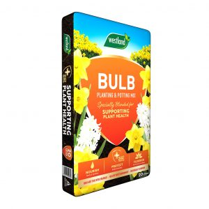 bulb planting compost in packaging