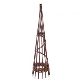 1.5m willow natural obelisk