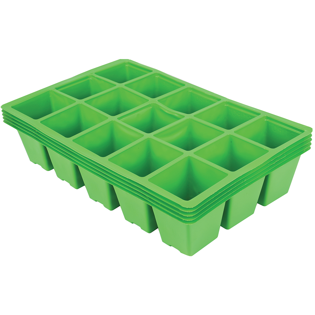15 Cell Seed Tray Inserts