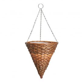 Faux Hyacinth Hanging Cone