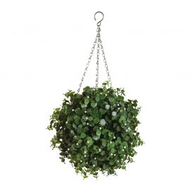 Artificial Eucalyptus Topiary Ball