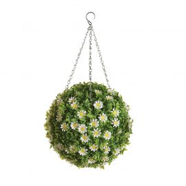 Artificial Daisy Topiary Ball